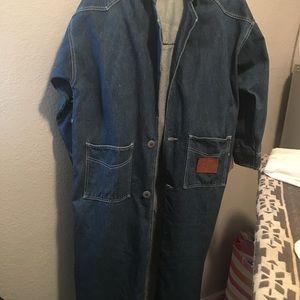 Long Denim Coat